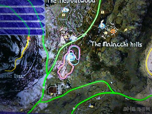 最终幻想15神秘纸片位置截图10