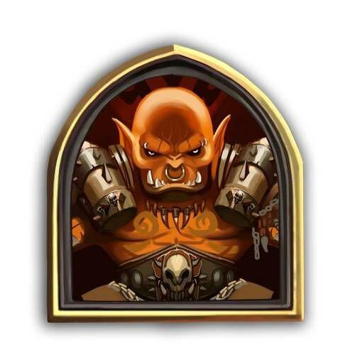 炉石传说战士头像1