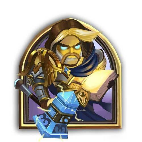 炉石传说圣骑士头像1