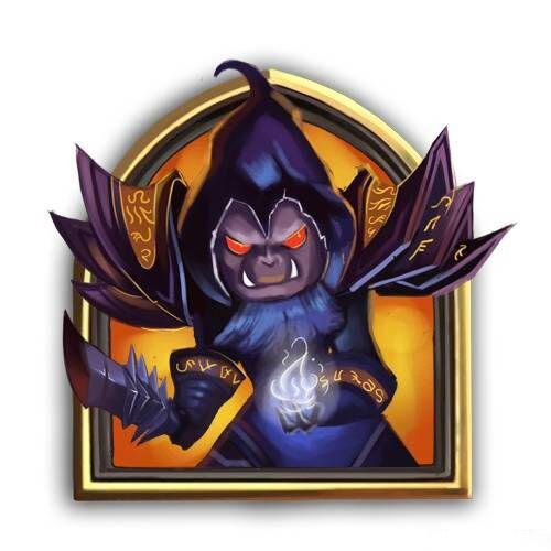 炉石传说术士头像1