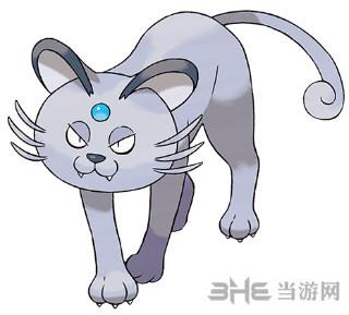 精灵宝可梦太阳月亮猫老大图片3