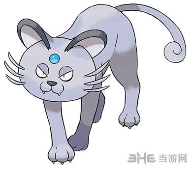 精灵宝可梦太阳月亮猫老大图片1