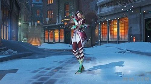 守望先锋圣诞雪国仙境皮肤截图1