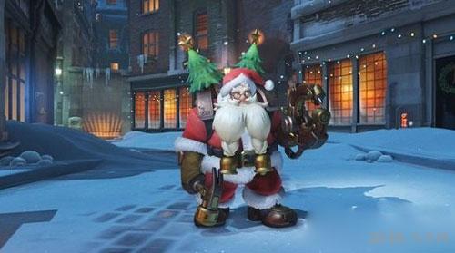 守望先锋圣诞雪国仙境皮肤截图3