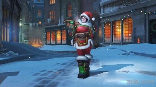 守望先锋圣诞雪国仙境皮肤截图5