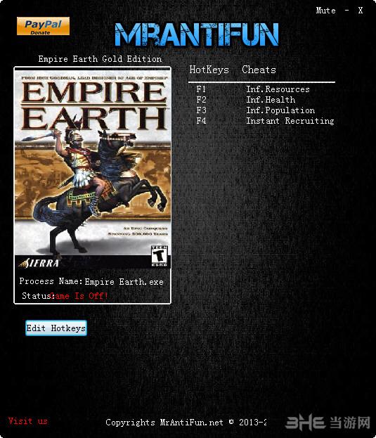 地球帝国四项修改器截图0