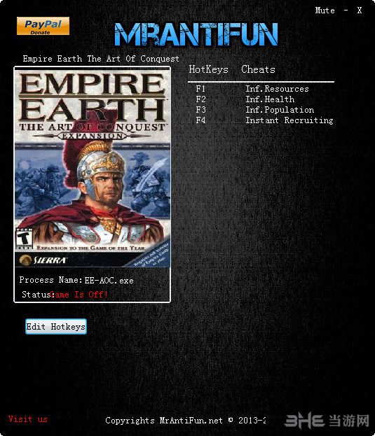 地球帝国2霸权的艺术四项修改器截图0