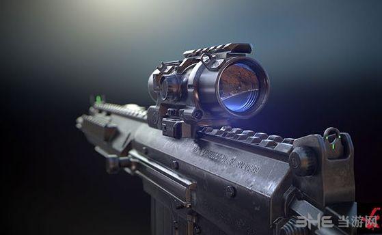 求生之路2使命召唤网络版SA58突击步枪MOD截图0