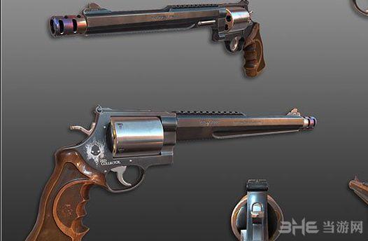求生之路2杀戮空间2M500转轮手枪MOD截图0