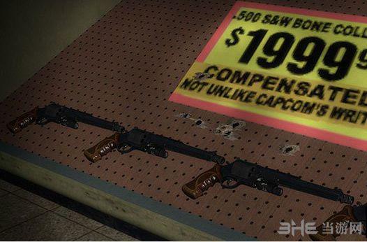 求生之路2杀戮空间2M500转轮手枪MOD截图2