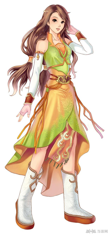 幻想三国志女性角色2
