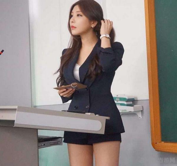 韩国最美老师朴贤书图片1