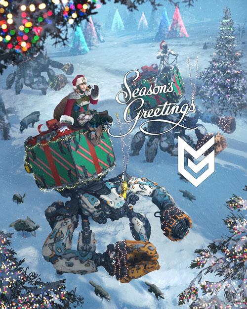 圣诞祝贺卡图2