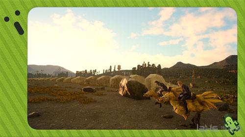 最终幻想15DLC假期包画面截图2