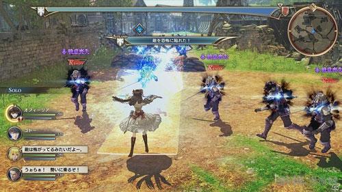 战场女武神苍蓝革命画面截图4