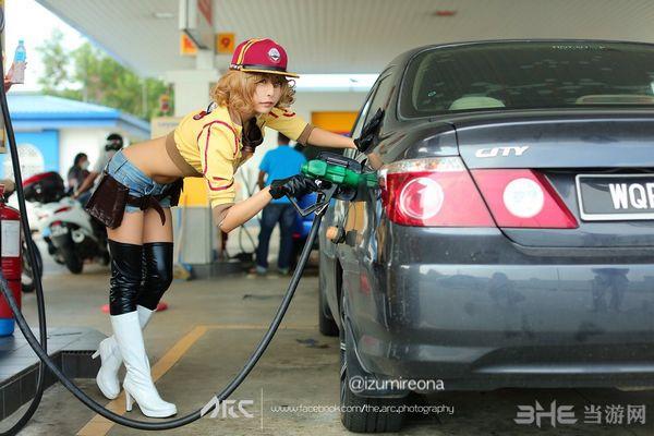 最终幻想15机械师Cosplay图片5