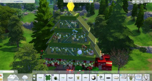 模拟人生4圣诞树屋截图1