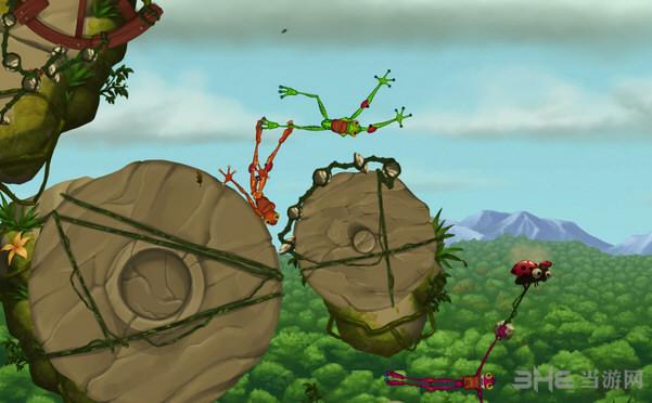 青蛙攀岩者1