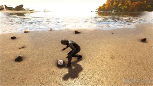 方舟生存进化ol速刷石头画面截图1