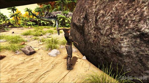 方舟生存进化ol速刷石头画面截图2