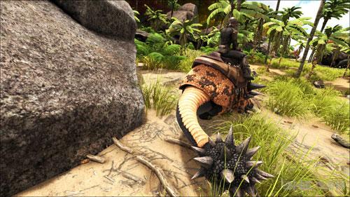 方舟生存进化ol速刷石头画面截图3