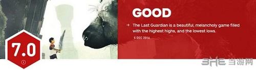 最后的守护者IGN评分截图