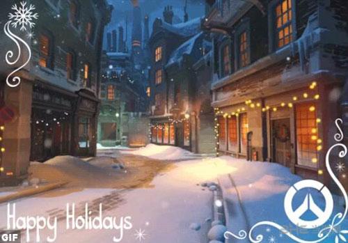 守望先锋圣诞活动图片1