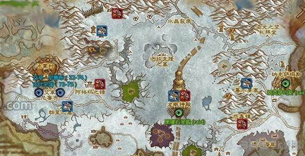 魔兽世界龙骨荒野截图1