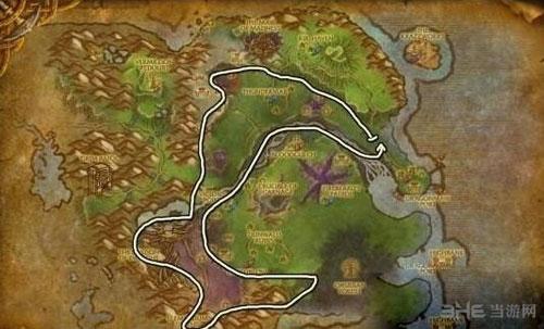 魔兽世界源质矿石位置截图3