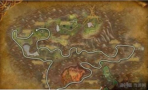 魔兽世界源质矿石位置截图2