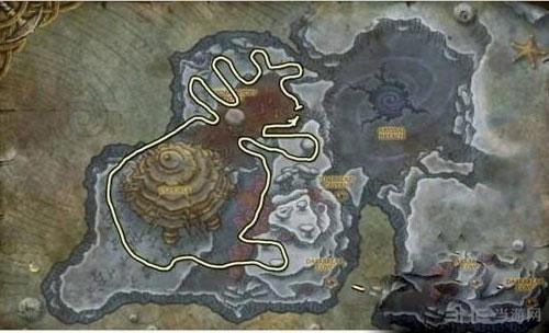 魔兽世界源质矿石位置截图1