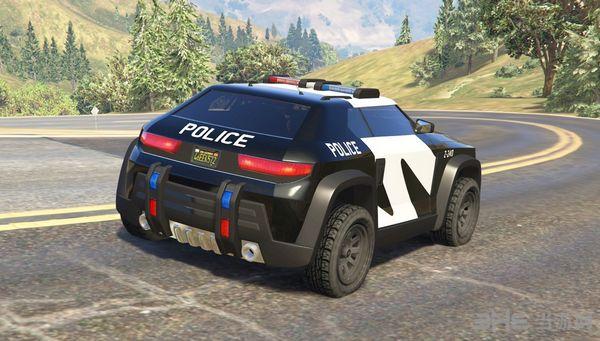 侠盗猎车手5疯狂动物城警察巡逻车MOD截图1