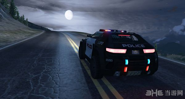 侠盗猎车手5疯狂动物城警察巡逻车MOD截图3