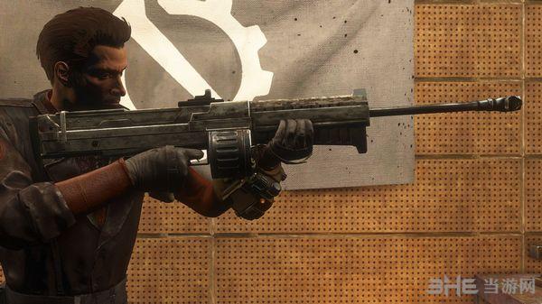 辐射4新维加斯的自动狙击步枪Bozar MOD截图1