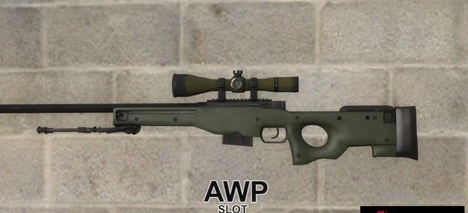 求生之路2 CS:GO AWP狙击步枪MOD截图3