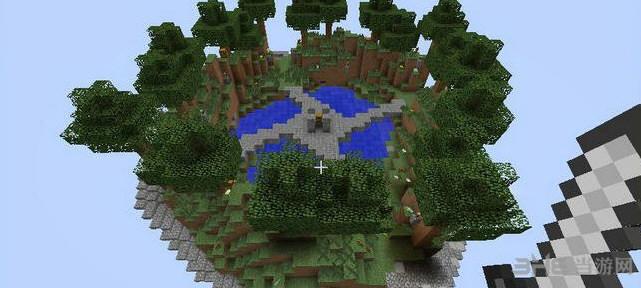 我的世界v1.7.10天空神庙地图截图1