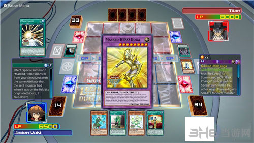游戏王:决斗者遗产完美全卡存档截图0
