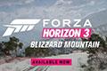《极限竞速:地平线3》暴雪山脉DLC上线 冰雪景色叹为观止
