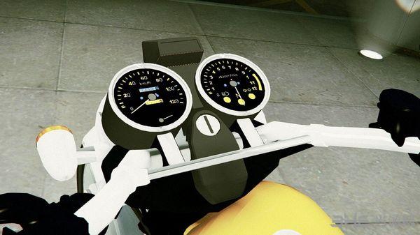 侠盗猎车手5铃木Inttruder125摩托车MOD截图2