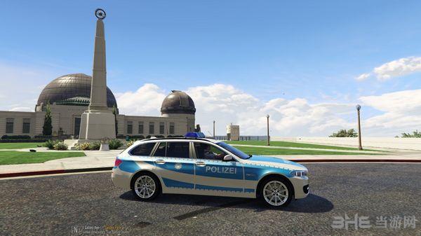 侠盗猎车手5宝马530D Bundespolizei MOD截图3