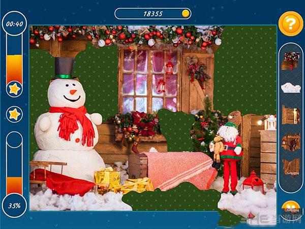 圣诞假期:马赛克拼图截图1