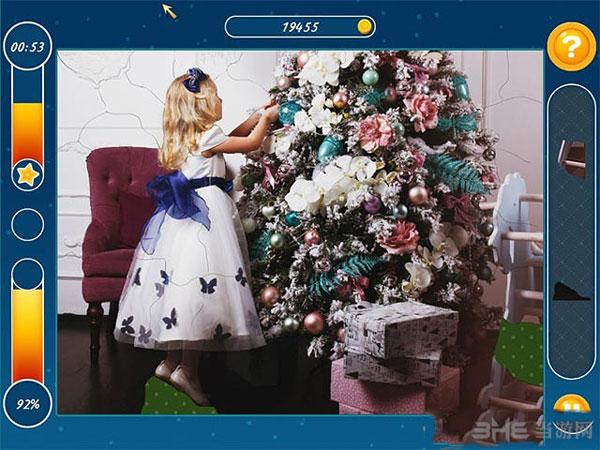 圣诞假期:马赛克拼图截图2