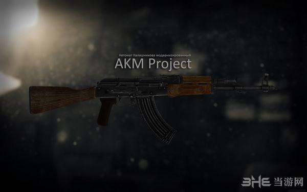辐射4战斗民族的AKM MOD截图0