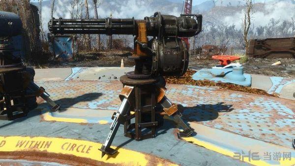 辐射4可以展开的炮塔2 MOD截图1