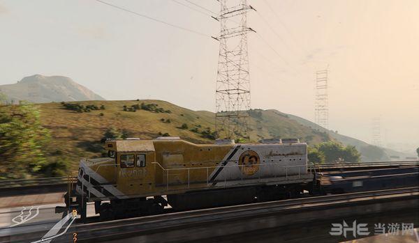 侠盗猎车手5成为火车司机MOD截图2