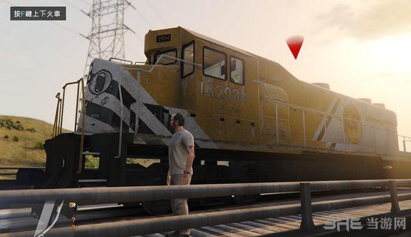 侠盗猎车手5成为火车司机MOD截图1