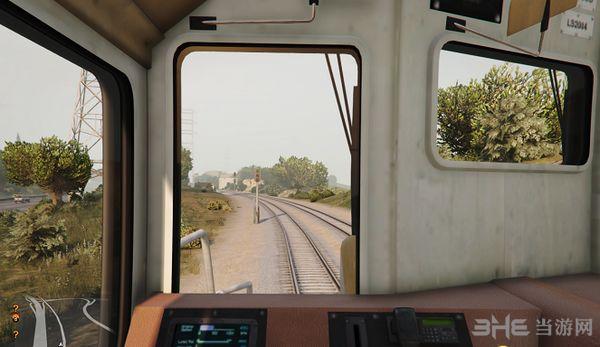 侠盗猎车手5成为火车司机MOD截图3