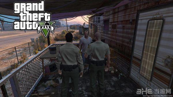 侠盗猎车手5 Trevor的逮捕和搜查令MOD截图2