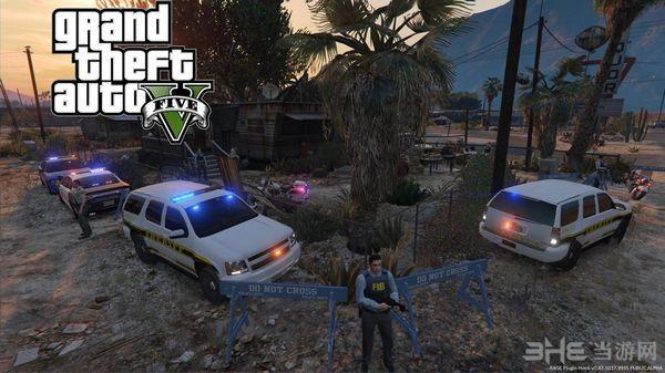 侠盗猎车手5 Trevor的逮捕和搜查令MOD截图1