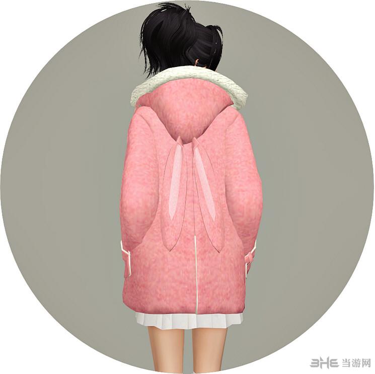 模拟人生4 冬季外套(配件-项链-配件-手镯)MOD截图1